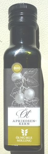 Aprikosenkernöl nativ Bio 100 ml