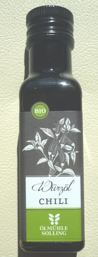 Chili Würzöl Bio 100 ml