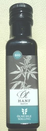 Hanföl Nativ Bio 100 ml